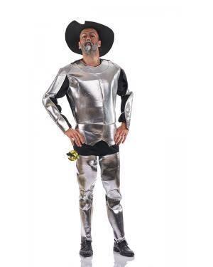 Fato de Quixote Adulto Tamanho XL para Carnaval o Halloween | A Casa do Carnaval.pt