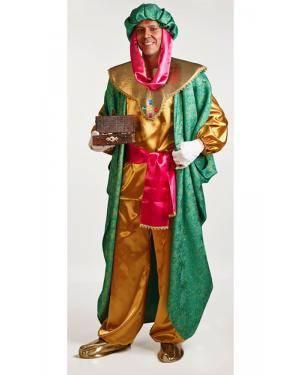 Fato de Rei Baltasar Adulto M/L Disfarces A Casa do Carnaval.pt