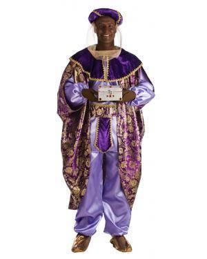Fato de Rei Baltasar Tamanho M/L para Carnaval