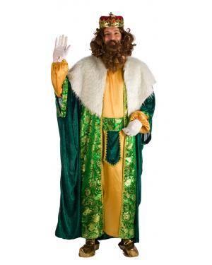 Fato de Rei Gaspar Tamanho M/L para Carnaval