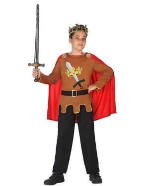 Fato de Rei Medieval Infantil Disfarces A Casa do Carnaval.pt