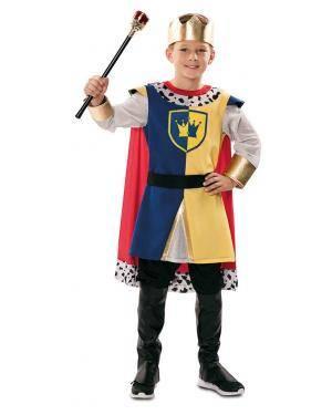 Fato de Rei Medieval Infantil para Carnaval