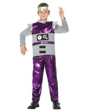 Fato de Robot Menino Disfarces A Casa do Carnaval.pt