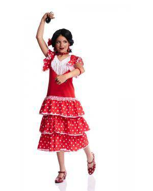 Fato de Sevilhana Infantil Disfarces A Casa do Carnaval.pt