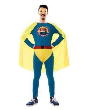 Fato de Super Garcia Adulto para Carnaval