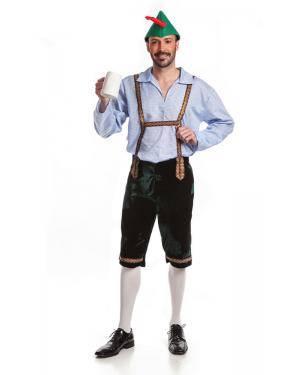 Fato de Tirolês Adulto M/L Disfarces A Casa do Carnaval.pt
