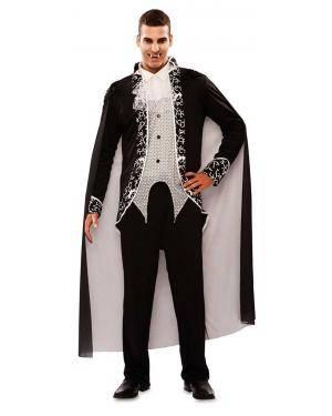 Fato de Vampiro Gótico Adulto para Carnaval