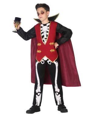 Fato de Vampiro Menino Disfarces A Casa do Carnaval.pt