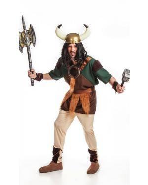 Fato de Viking Adulto M/L Disfarces A Casa do Carnaval.pt