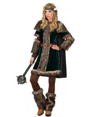 Fato de Viking Mulher