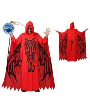 Fato Demonio Morte Adulto Disfarces A Casa do Carnaval.pt