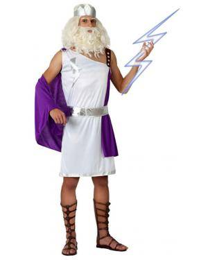 Fato Deus Grego Zeus Adulto Disfarces A Casa do Carnaval.pt