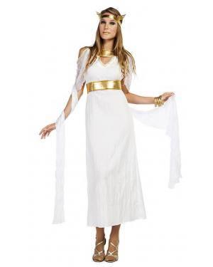 Fato Deusa Grega Tamanho M/L para Carnaval