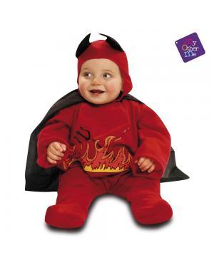 Fato Diabinho Vermelho Bebé para Carnaval
