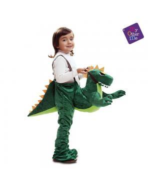 Fato Dinossauro Ás Costas Criança para Carnaval