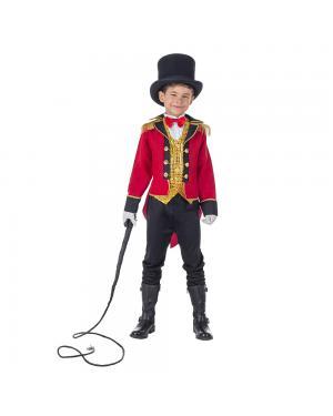 Fato Domador Apresentador Menino para Carnaval