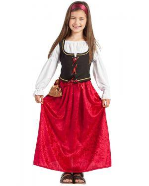 Fato Dona de Estalagem Medieval Menina