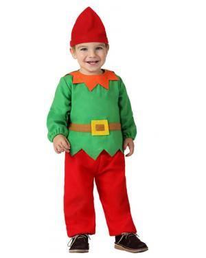 Fato Duende Natal Bebé Disfarces A Casa do Carnaval.pt