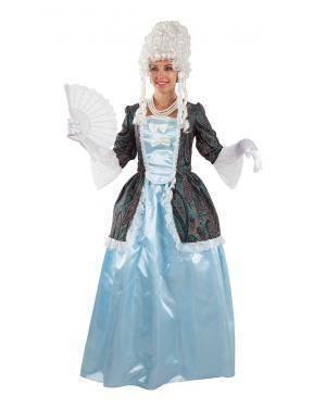 Fato de Duquesa Azul Adulto para Carnaval | A Casa do Carnaval.pt