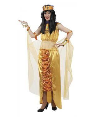 Fato de Egípcia Cleópatra Mulher Adulto M/L para Carnaval | A Casa do Carnaval.pt