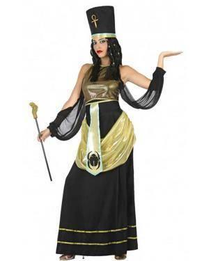 Fato Egípcia Dourada para Carnaval