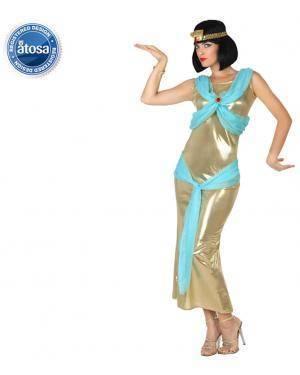 Fato Egipcia Dourada Adulto Disfarces A Casa do Carnaval.pt