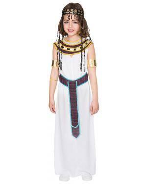 Fato Egípcia Menina de 7-9 anos Disfarces A Casa do Carnaval.pt