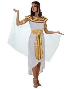 Fato Egipcia Rainha Del Nilo Adulto, Loja de Fatos Carnaval, Disfarces, Artigos para Festas, Acessórios de Carnaval, Mascaras, Perucas 932 acasadocarnaval.pt
