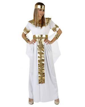 Fato Egipcia Rainha Del Nilo Mulher Disfarces A Casa do Carnaval.pt
