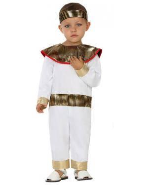 Fato Egípcio Bebé de 0-6 meses Disfarces A Casa do Carnaval.pt