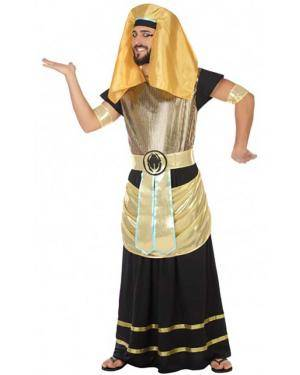 Fato Egípcio Dourado Adulto para Carnaval
