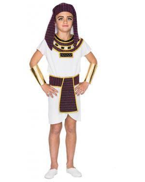 Fato Egípcio Menino de 10-12 anos Disfarces A Casa do Carnaval.pt