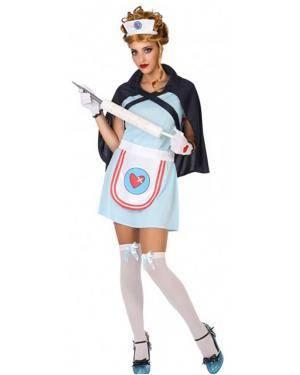 Fato Enfermeira Adulto para Carnaval