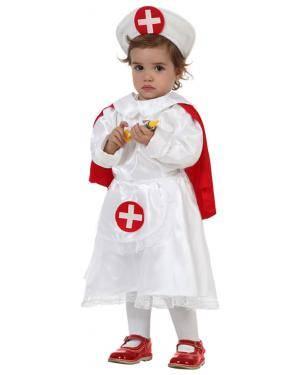 Fato Enfermeira con Capa Bebé Disfarces A Casa do Carnaval.pt