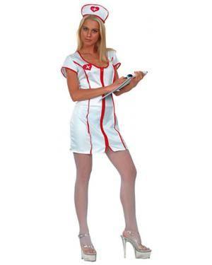 Fato Enfermeiras Sexy Adulto  70586, Loja de Fatos Carnaval acasadocarnaval.pt, Disfarces, Acessórios de Carnaval, Mascaras, Perucas, Chapeus