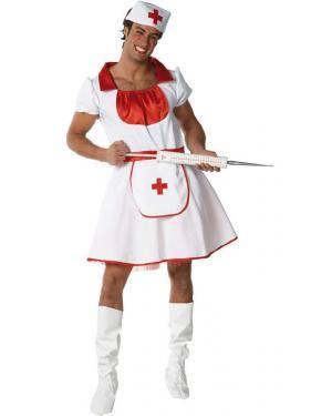 Fato Enfermera Adulto Disfarces A Casa do Carnaval.pt