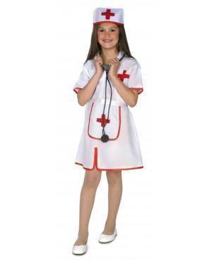 Fato Enfermera Infantil Disfarces A Casa do Carnaval.pt