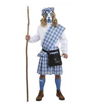 Fato de Escocês Homem Adulto XL para Carnaval | A Casa do Carnaval.pt