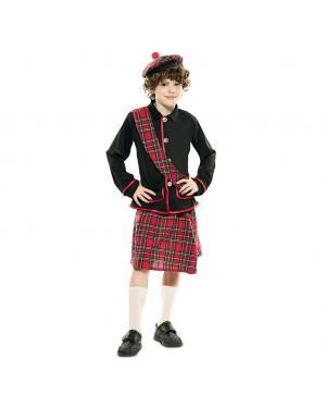 Fato Escocês Menino para Carnaval