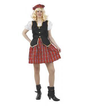 Fato de Escocesa Adulto para Carnaval | A Casa do Carnaval.pt