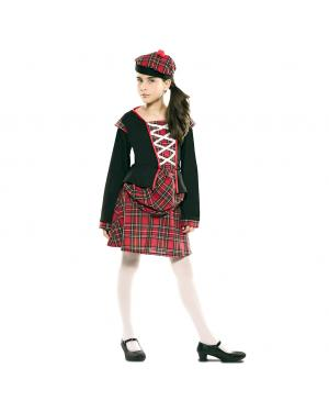 Fato Escocesa Menina para Carnaval