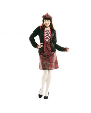 Fato Escocesa Mulher para Carnaval