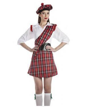 Fato Escocêsa Tamanho S para Carnaval