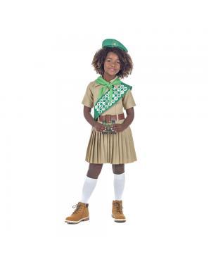 Fato Escoteira Menina para Carnaval