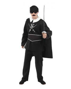 Fato de Espadachim O Zorro Adulto XL para Carnaval | A Casa do Carnaval.pt
