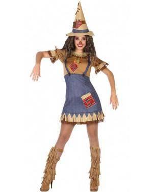 Fato Espantalho Oz Mulher para Carnaval