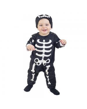 Fato Esqueleto Bebé para Carnaval