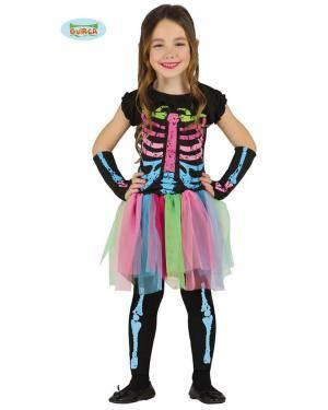 Fato Esqueleto Tutu Infantil Disfarces A Casa do Carnaval.pt