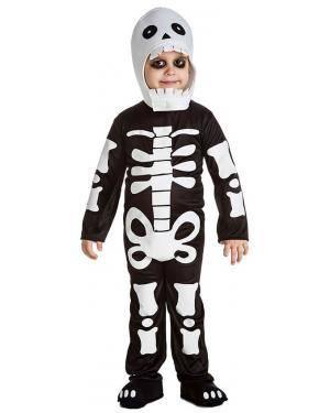 Fato Esqueleto Dentes para Carnaval ou Halloween 2218 - A Casa do Carnaval.pt