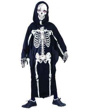 Fato Esqueleto Halloween Menino Disfarces A Casa do Carnaval.pt